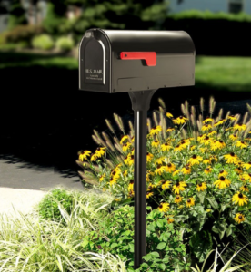 mailbox in front of a home